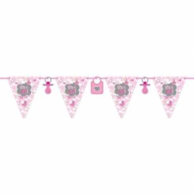 2x slinger geboorte meisje 6 meter